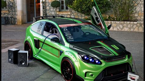 Tuned Focus Rs by Ford Focus St Tuning Ford Focus Rs Tuning Wallpaper