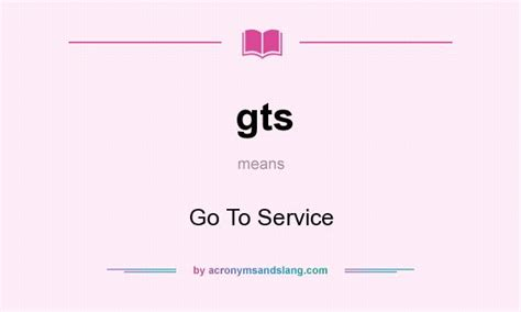 Go To Service In Undefined By Acronymsandslang.com