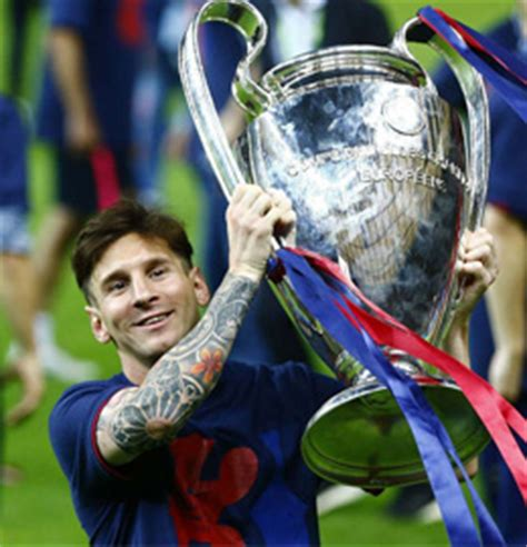 Barcelona Win Champions League as Messi Completes Second ...