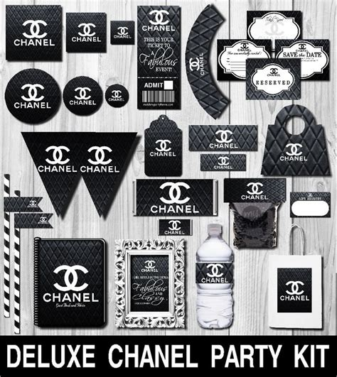 deluxe chanel party kit chanel party favors