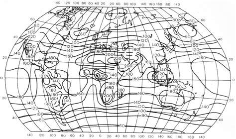 Климат . Распределение суммарной солнечной радиации
