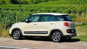 Fiat 500 L Trekking Autotest  Locker  Leicht Und Luftig