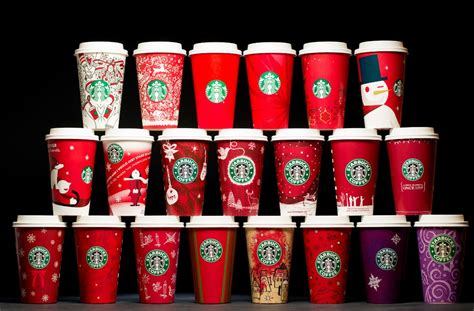 years  starbucks holiday cups