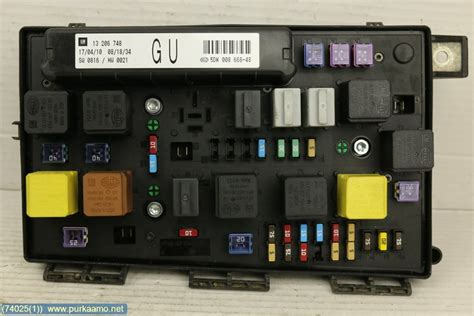 Electricity Fuse Box by Fuse Box Electricity Central 13206748 Opel Astra 2010