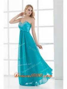 teal blue bridesmaid dresses empire teal blue sweetheart floor length beading taffeta prom dress us 146 36