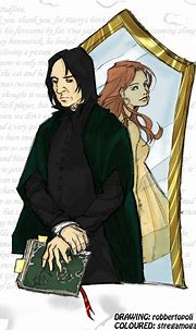 Severus and Lily by stregamogana83 on DeviantArt