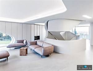 Modern Architecture At The Futuristic Ols House In