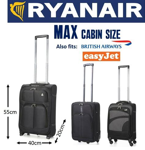 aircraft cabin luggage size aerolite 5 cities ryanair max carry on cabin