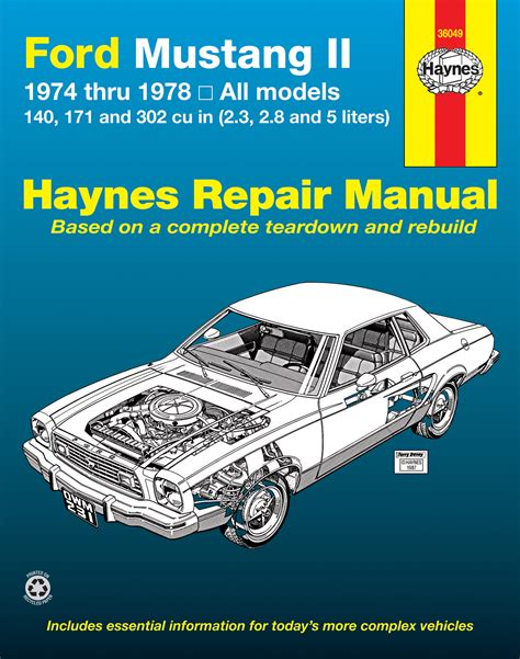 Ford Mustang Cylinder Haynes
