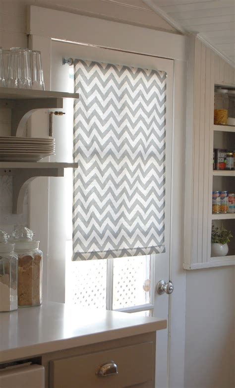 Door Window Coverings by And At Leadora Diy Roller Shades 101 Diy
