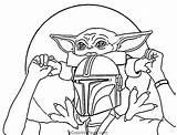Coloring Yoda Kidsworksheetfun Leave sketch template