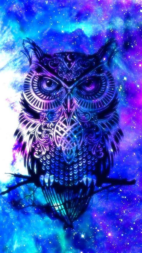 Galaxy Animal Wallpaper - owl galaxy owl wallpaper galaxy wallpaper owl