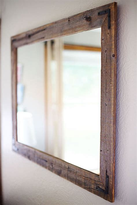Wood Frame Mirror For Bathroom by Large Wall Mirror Large Wood Framed Mirror Large