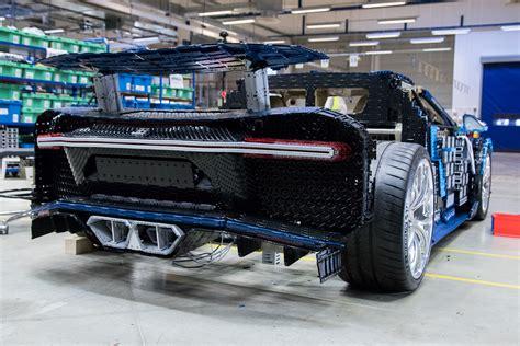 Getting the lego bugatti road ready was itself an achievement. LEGO Technic Bugatti Chiron Life-Size Model-30 | The Brothers Brick | The Brothers Brick