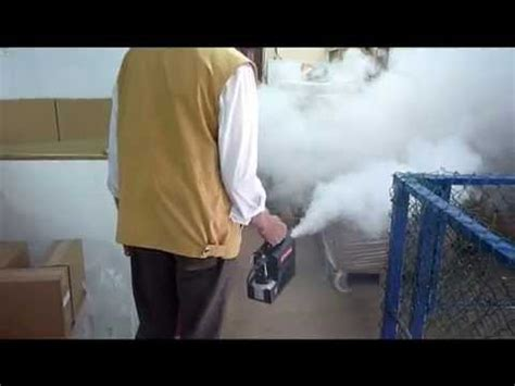 pea soup mini rocket  battery powered smoke machine