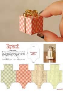 Tiny Gift Box Template Free