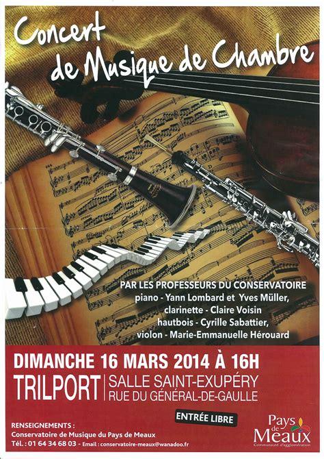 musique de chambre concert de musique de chambre trilport