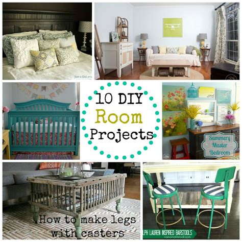 diy room projects monday funday link party
