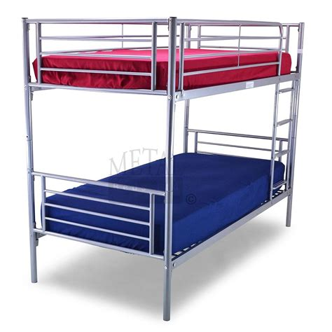 bunk bed bertie metal bunk bed up to 60 rrp next day