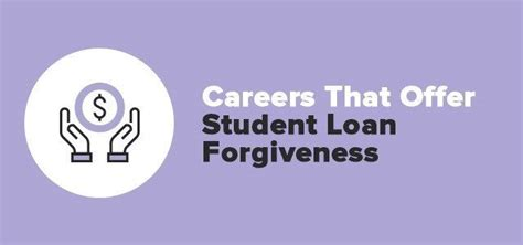 Student Loan Forgiveness Programs By Career Field