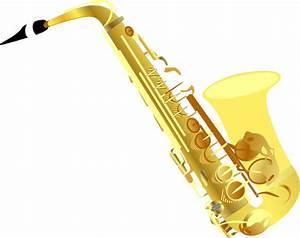 Saxophone Clip Art at Clker.com - vector clip art online ...