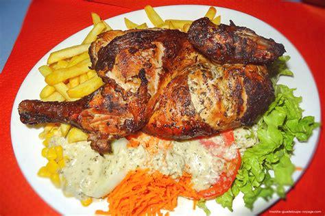 cuisine cr鑪e jp poulet grillé créole insolite guadeloupe voyage