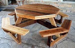 cedar picnic table plans » woodworktips