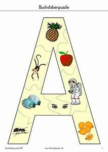 Puzzle Zum Ausdrucken : buchstaben puzzle pdf to flipbook schule pinterest ~ Lizthompson.info Haus und Dekorationen