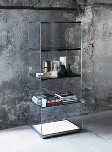 glas italia brera modern shelving unit  cabinet  opera
