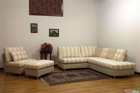 Divano Angolare Piccolo - divano angolare piccolo in tessuto realizzabile su misura