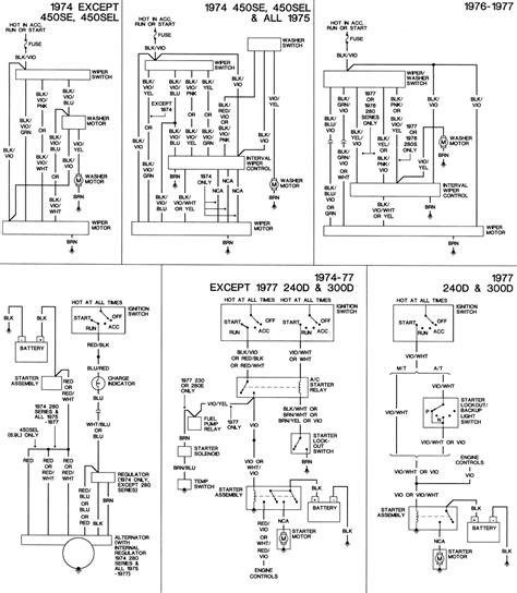 Mercede 300d Alternator Wiring by Ac Wire Diagram 85 Mercedes 300d Wiring Diagram