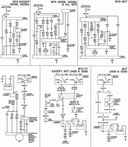 Mercedes 450sl Power Switch Wiring Diagrams 1975