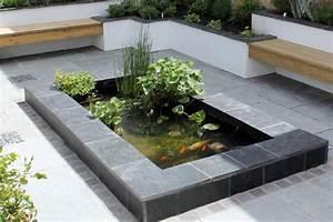 Bac à Poisson Extérieur : comment r aliser l 39 tanch it d 39 un bassin poisson ~ Teatrodelosmanantiales.com Idées de Décoration