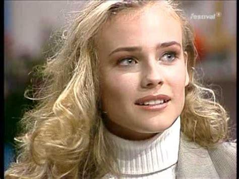 diane kruger ungeschminkt ausschnitt aus schmidteinander folge 16 16 08 1992