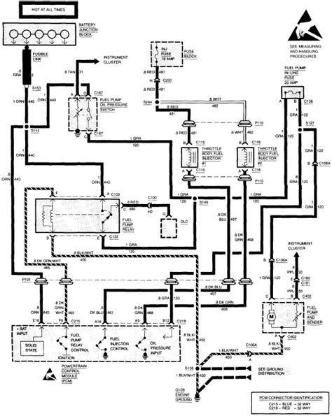 99 C1500 Brake Wiring Diagram by I A Chevy 1500 1994 And Its Not Turning The Fuel