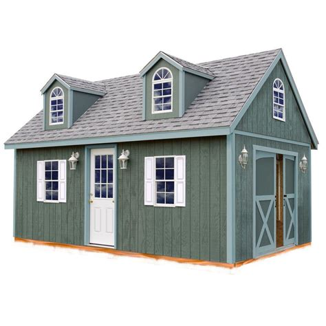 12 x 12 shed kit best barns arlington 12 ft x 24 ft wood storage shed kit