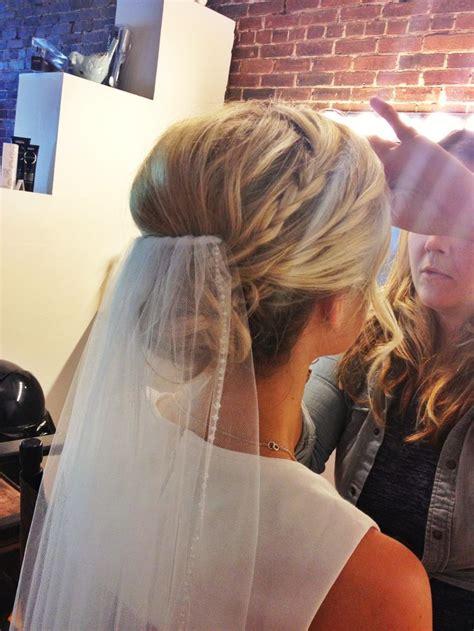 Bridal Updo Hair Updo Wedding Veil Pinterest