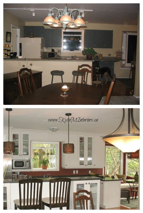 flooring before or after cabinets before and after white kitchen cabinet remodel with