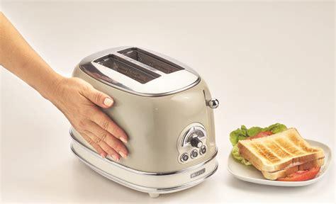 tostapane vintage toaster vintage 2 fette beige ariete