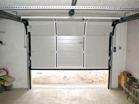 porte de garage sectionnelle sur mesure pas cher palzon