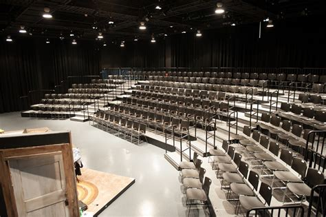 Black Box Theater Seating Risers Stageright