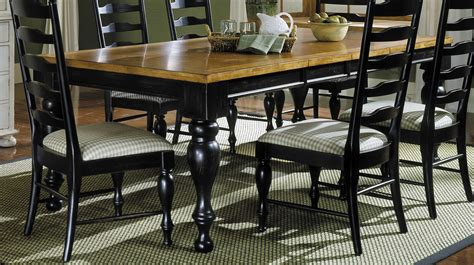 antique black dining table homelegance casual moments dining table antique black 4076