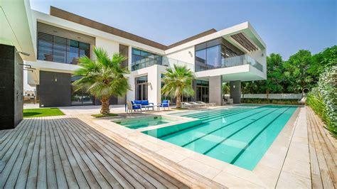 luxury villa   bedroom  dubai modern villas