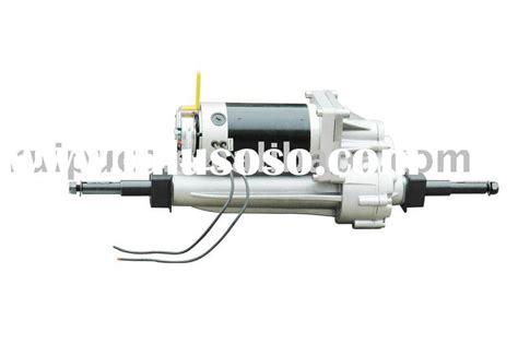 Electric Motor Braking System Circuit Diagram