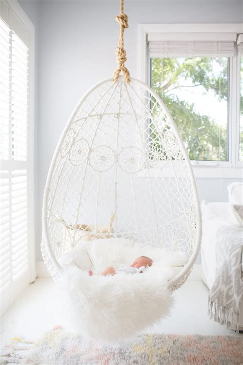 rattan bedroom furniture white hanging chair for bedroom