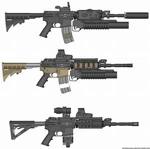 Call of Duty M4A1 by GVK2010 on DeviantArt