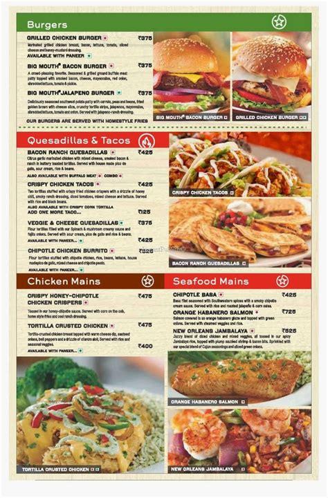 chilis food fests menu trending