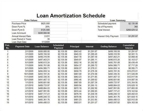 home loan amortization table housing loan amortization calculator 28 images