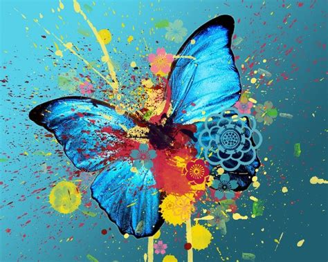 abstract butterfly wallpaper cool hd wallpapers