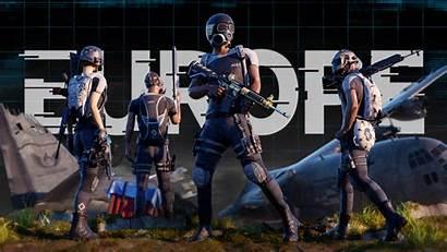 Pubg Europe Squad Battlegrounds Pcs Playerunknown Continental